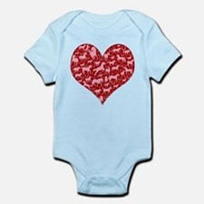Horsey Heart Infant Bodysuit