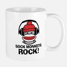 Sock Monkeys Rock Mug