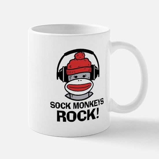 Sock Monkeys Rock Mug