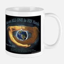 We are ALL ONE in HIS Hands Mug