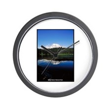 Mount Rainier National Park Wall Clock