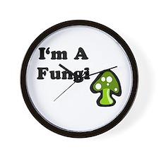I'm A Fungi Wall Clock