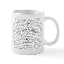 Unique Names of jesus Mug