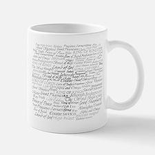 Cute Names of jesus Mug