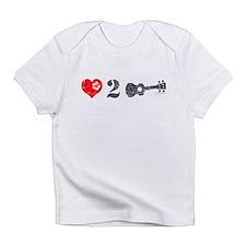 Love 2 Ukulele Light Infant T-Shirt