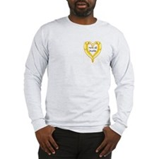 pocket banana slug friends Long Sleeve T-Shirt