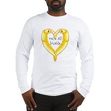 banana slug friends Long Sleeve T-Shirt