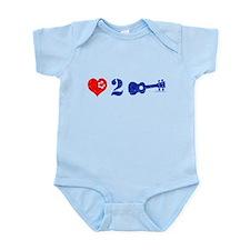 Love 2 Ukulele Infant Bodysuit