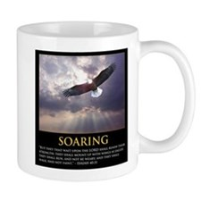 Soaring Eagle - Isa 40:31 Mugs