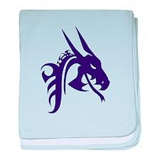 Dragon baby blanket