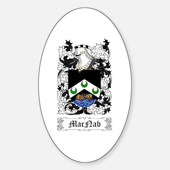 MacNab Sticker (Oval)