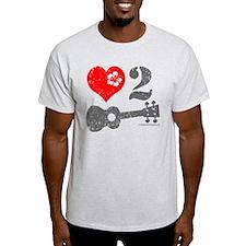 Love 2 Ukulele T-Shirt