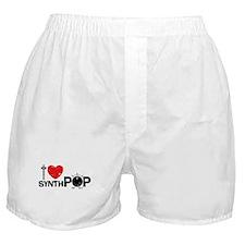 I Love Synthpop Boxer Shorts