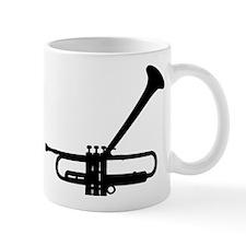 Dizzy's Horn Dark Silhouette Mug
