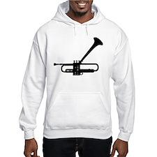 Dizzy's Horn Dark Silhouette Hoodie