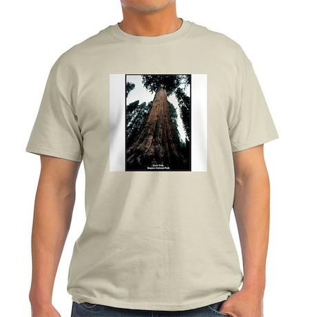 Sequoia National Park Tree Ash Grey T-Shirt