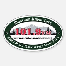 Oval 101.9 Decal