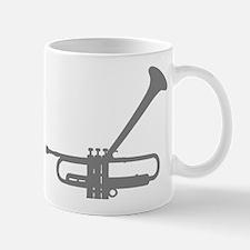 Dizzy's Horn Silver Silhouett Mug