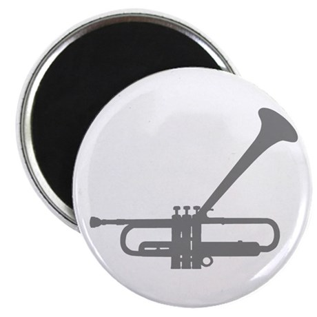 Dizzy's Horn Silver Silhouett Magnet
