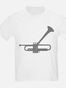 Dizzy's Horn Silver Silhouett T-Shirt