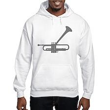 Dizzy's Horn Silver Silhouett Jumper Hoody
