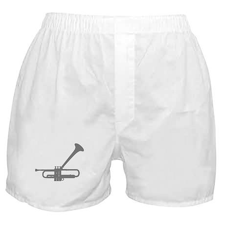 Dizzy's Horn Silver Silhouett Boxer Shorts