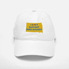 No to Mike Rounds Baseball Baseball Cap