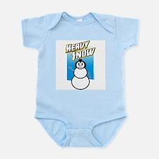 Heavy Snow (Infant bodysuit)