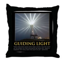 Cute Guiding light Throw Pillow