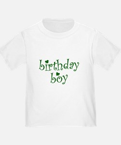 St. Patricks Day Birthday Boy T