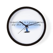 Masquerading... Wall Clock