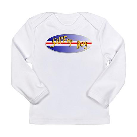 Surfer Boy Long Sleeve Infant T-Shirt
