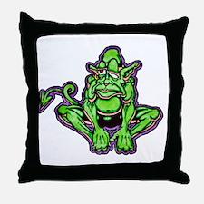Leprechaun elf Throw Pillow
