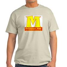 McMinimum Wage Ash Grey T-Shirt