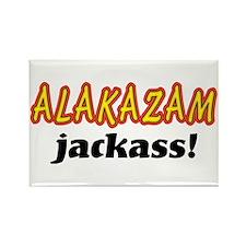 Alakazam Jackass Rectangle Magnet