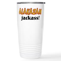 Alakazam Jackass Stainless Steel Travel Mug