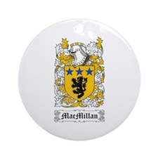 MacMillan Ornament (Round)
