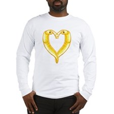 banana slug heart Long Sleeve T-Shirt