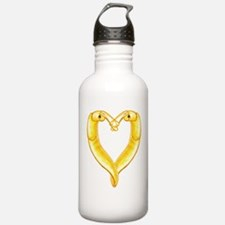 banana slug heart Water Bottle