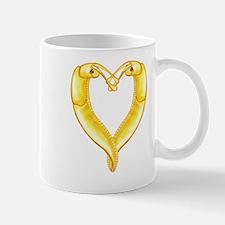 banana slug heart Mug