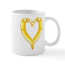 banana slug heart Small Mug