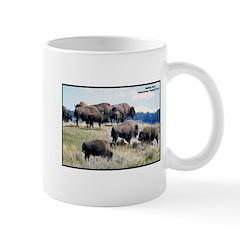 Yellowstone Buffalo Herd Mug