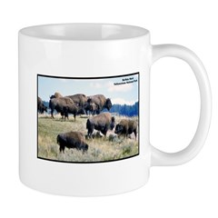 Yellowstone Buffalo Herd Mug