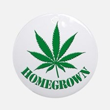 Homegrown Ornament (Round)