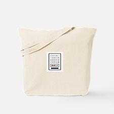 Calculator Tote Bag