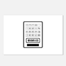 Calculator Postcards (Package of 8)