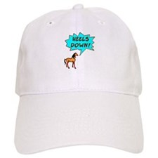 Heels Down with Horse Baseball Cap