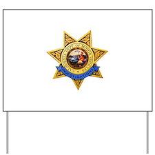 California DMV Investigator Yard Sign