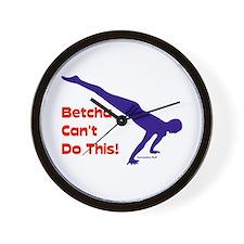 Gymnastics Clock - Planche