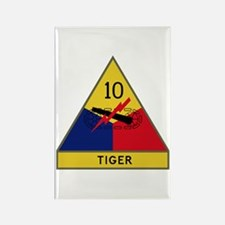 Tiger Rectangle Magnet
